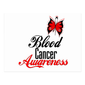 Blood Cancer Awareness Butterfly Postcards