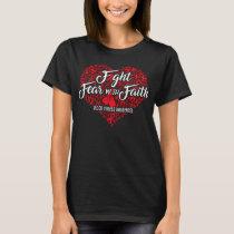 blood cancer awareness heart T-Shirt