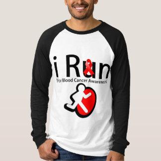 Blood Cancer Awareness I Run T-Shirt