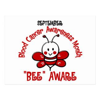 Blood Cancer Awareness Month Bee 1.2 Postcard