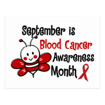 Blood Cancer Awareness Month Bee 1.3 Postcard