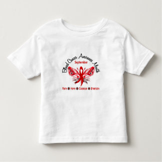 Blood Cancer Awareness Month Butterfly 3.2 Toddler T-shirt