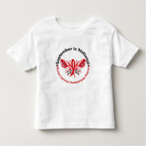 Blood Cancer Awareness Month Butterfly 3.3 Toddler T-shirt