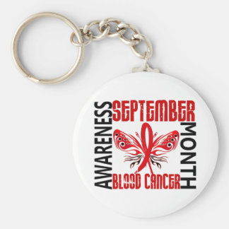Blood Cancer Awareness Month Butterfly 3 4 Key Chains