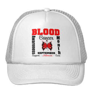 Blood Cancer Awareness Month Butterfly Mesh Hat