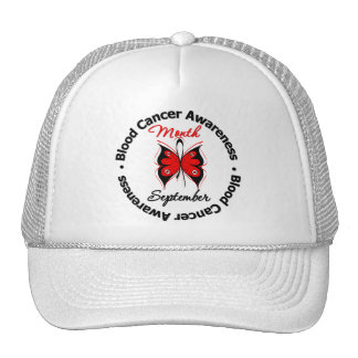 Blood Cancer Awareness Month Butterfly Mesh Hats