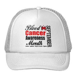 Blood Cancer Awareness Month Butterfly Ribbon Hat