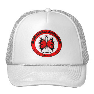 Blood Cancer Awareness Month Butterfly v2 Trucker Hat