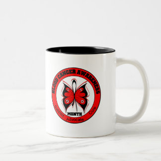 Blood Cancer Awareness Month Butterfly v2 Coffee Mug