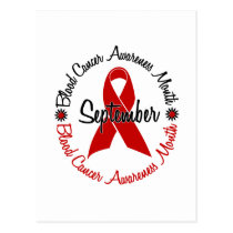 Blood Cancer Awareness Month Flowers 3 Postcard