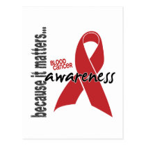 Blood Cancer Awareness Postcard