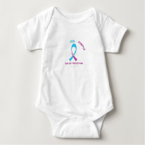 Blood Cancer Awareness Support Baby Bodysuit