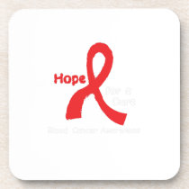 Blood Cancer Awareness Support Beverage Coaster