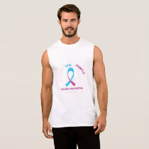 Blood Cancer Awareness Support Sleeveless Shirt