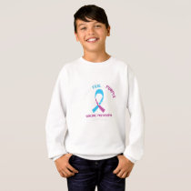 Blood Cancer Awareness Support Sweatshirt