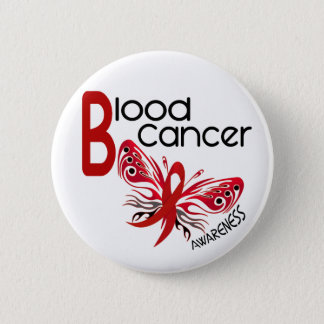 Blood Cancer BUTTERFLY 3.1 Pinback Button