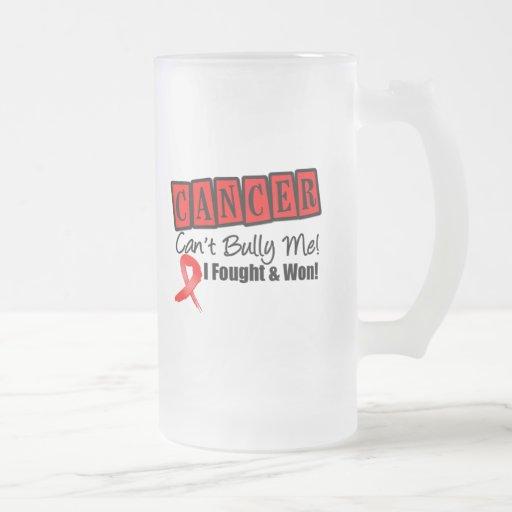 Blood Cancer Can't Bully Me...I Fought I Won Mugs