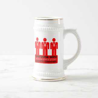 Blood Cancer Everyone Wins With Awareness Coffee Mug