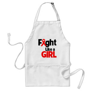 Blood Cancer Fight Like a Girl Aprons