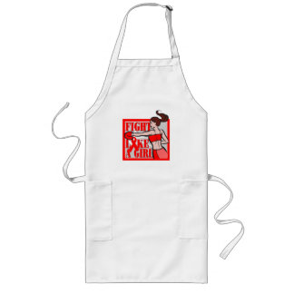 Blood Cancer Fight Like A Girl Boxer Apron