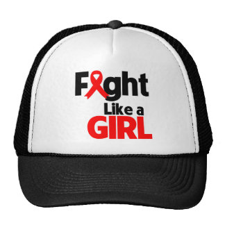 Blood Cancer Fight Like a Girl Hats