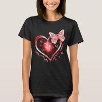 blood cancer heart cross gift survivor warrior T-Shirt