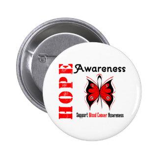 Blood Cancer Hope Awareness Pinback Button