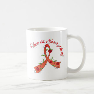 Blood Cancer Hope is Everything Classic White Coffee Mug