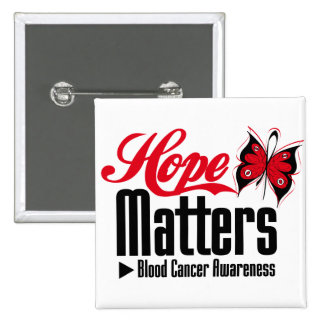 Blood Cancer HOPE MATTERS Pins
