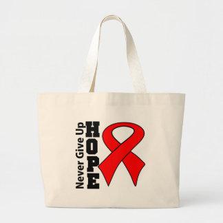 Blood Cancer Hope Never Give Up Bag