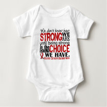 Blood Cancer How Strong We Are Baby Bodysuit