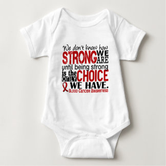 Blood Cancer How Strong We Are Tee Shirt