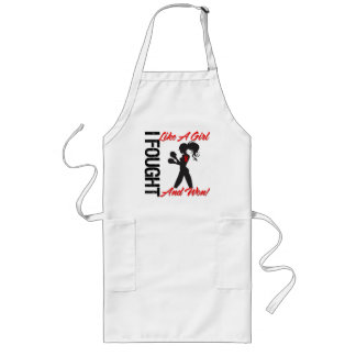Blood Cancer I Fought Like A Girl and Won Apron
