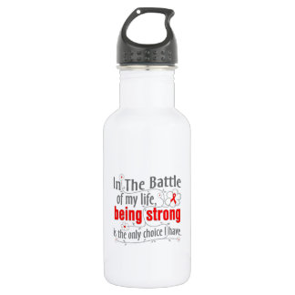 Blood Cancer In The Battle Water Bottle