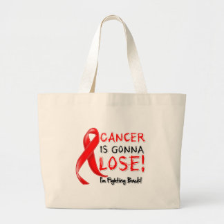Blood Cancer is Gonna Lose Canvas Bags