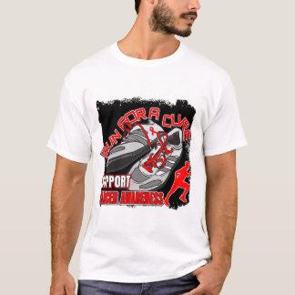 Blood Cancer - Men Run For A Cure T-Shirt