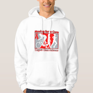 Blood Cancer Moving For A Cure Hoodie