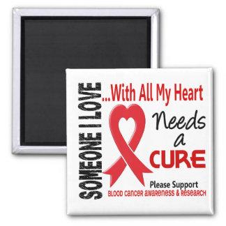 Blood Cancer Needs A Cure 3 Fridge Magnets