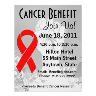 Blood Cancer Personalized Benefit Flyer