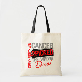 Blood Cancer Picked The Wrong Diva Tote Bag