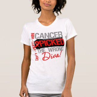 Blood Cancer Picked The Wrong Diva Tanktops