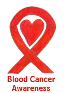 Blood Cancer Awareness Buttons & Pins - No Minimum Quantity