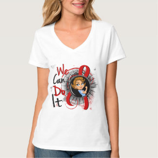 Blood Cancer Rosie Cartoon WCDI T-Shirt