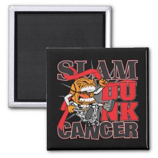 Blood Cancer - Slam Dunk Cancer Magnets