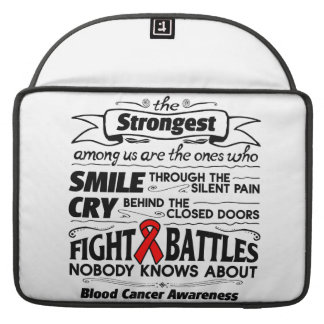 Blood Cancer Strongest Among Us MacBook Pro Sleeve