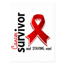 Blood Cancer Survivor 19 Postcard