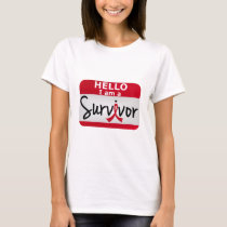 Blood Cancer Survivor 24.png T-Shirt