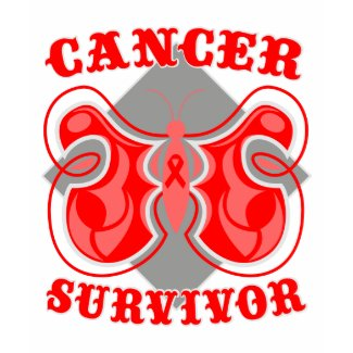 Blood Cancer Survivor Butterfly shirt