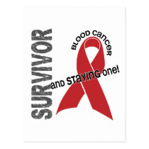 Blood Cancer Survivor Postcard
