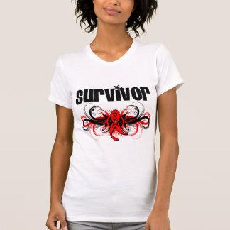 Blood Cancer Survivor Wing Emblem Tshirts